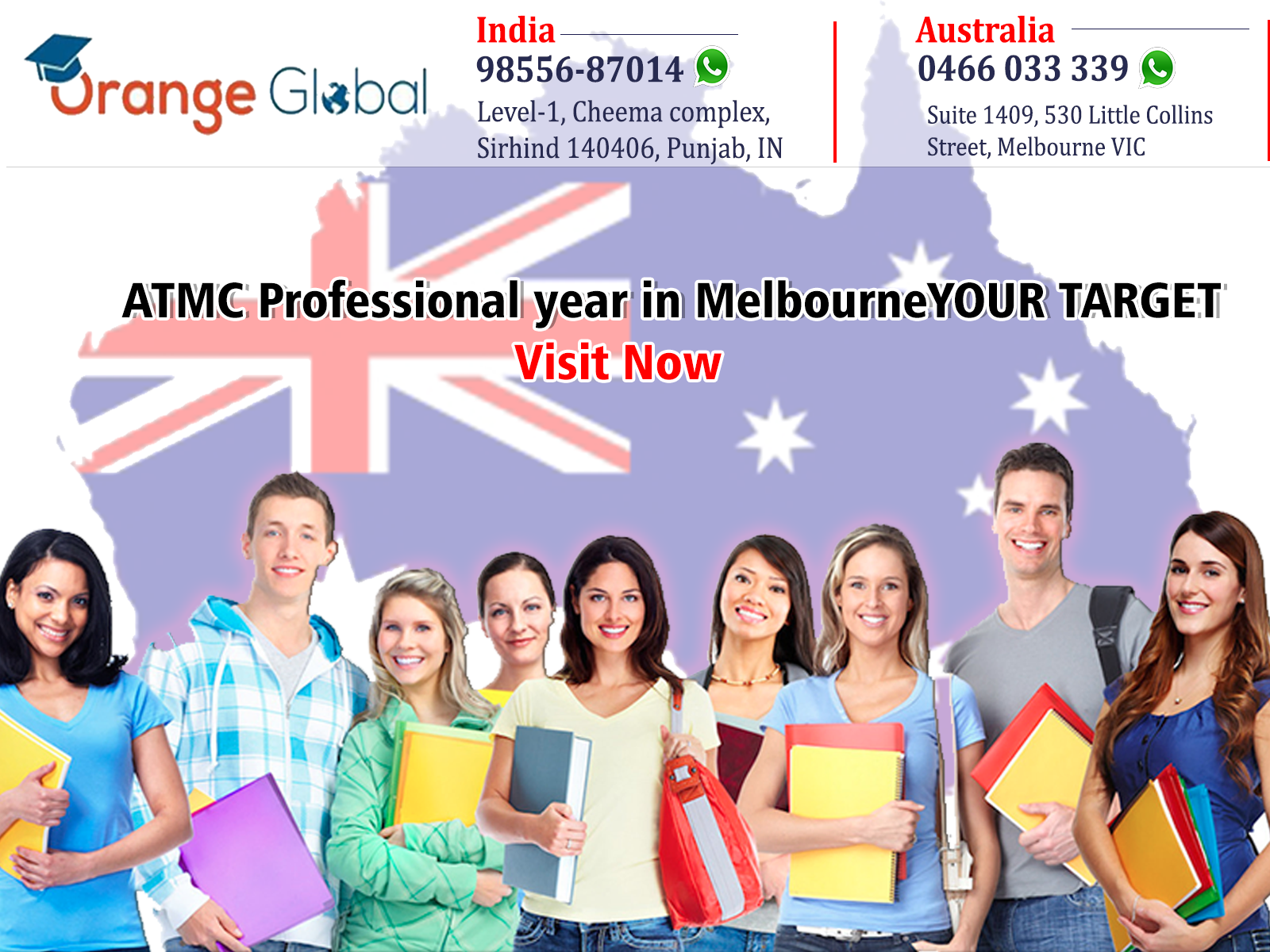 ATMC Professional year in Melbourne
