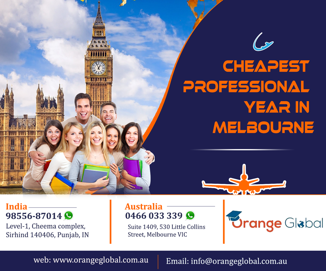 Cheapest Professional year in Melbourne