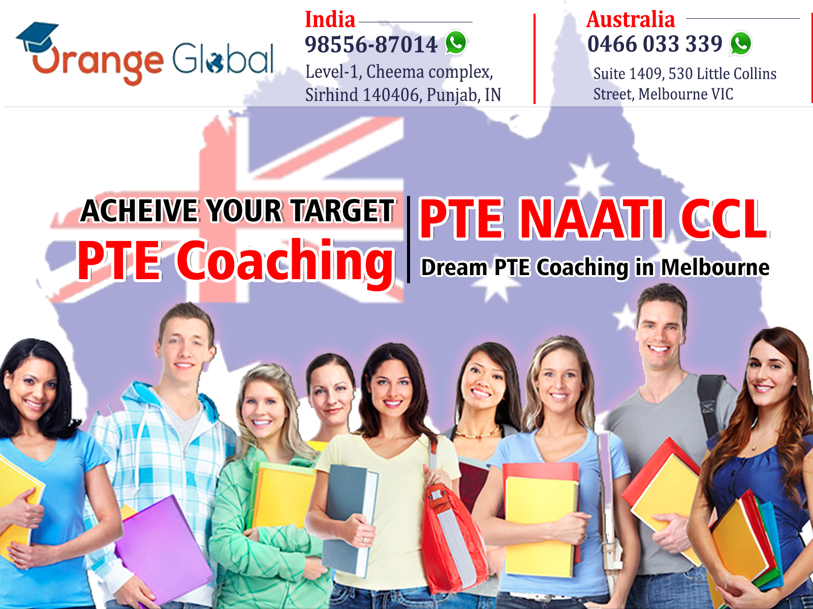 Dream PTE Coaching in Melbourne