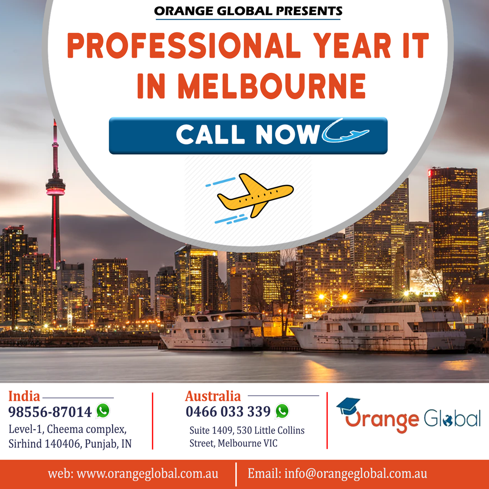 Professional year IT in Melbourne